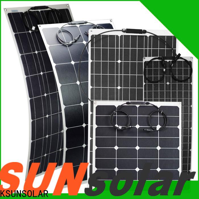 KSUNSOLAR Top semi flexible solar panel kit For photovoltaic power generation
