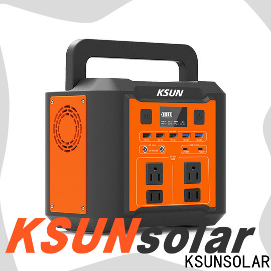 KSUNSOLAR portable rechargeable power supply For photovoltaic power generation