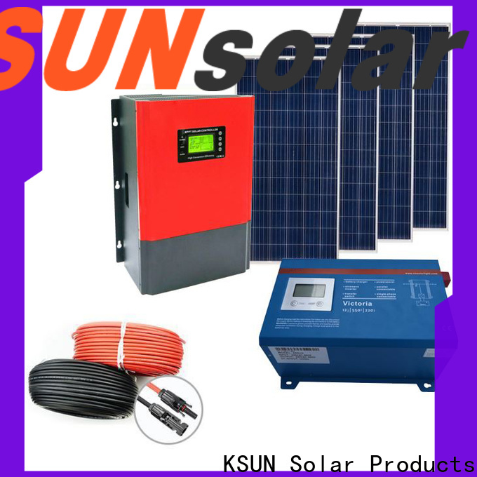 Custom solar panels off grid power systems for Power generation