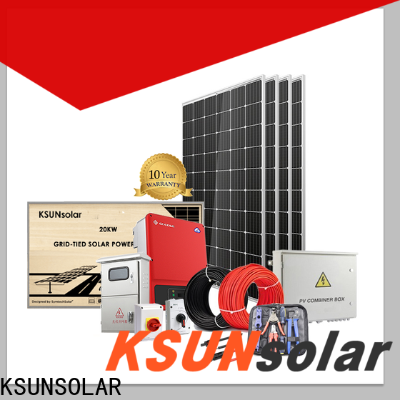 KSUNSOLAR solar power systems for sale For photovoltaic power generation