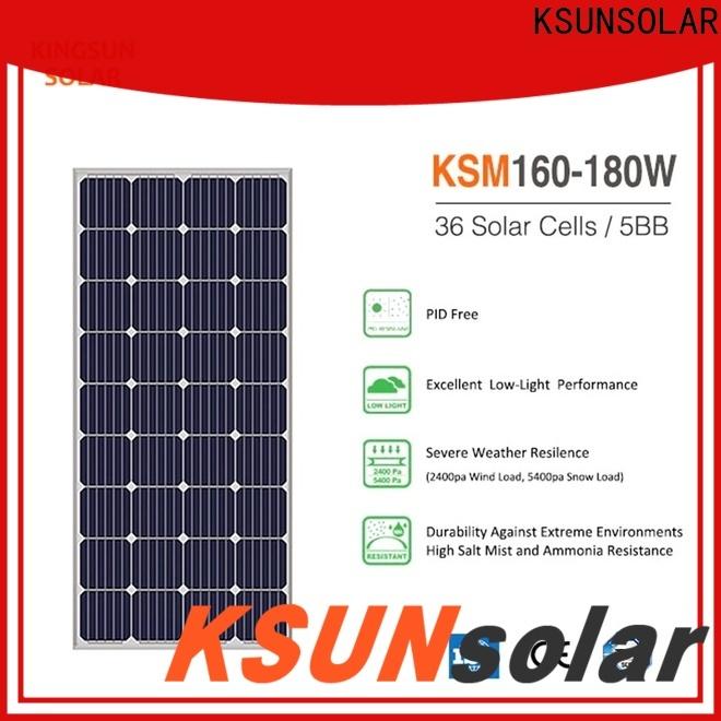 KSUNSOLAR monocrystalline solar panels for sale company for Energy saving