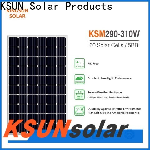 KSUNSOLAR monocrystalline silicon panels price manufacturers for powered by