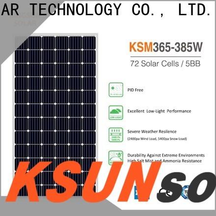KSUNSOLAR commercial solar panels factory for Energy saving