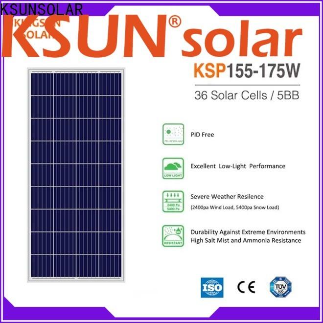 KSUNSOLAR polycrystalline silicon solar panels for Energy saving