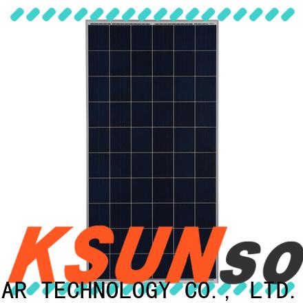 KSUNSOLAR New polycrystalline panels company For photovoltaic power generation