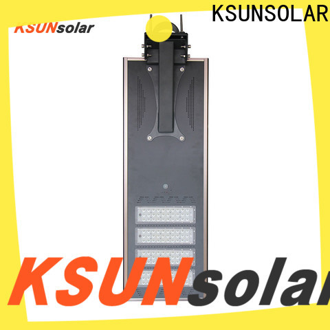KSUNSOLAR solar street light with panel for business For photovoltaic power generation