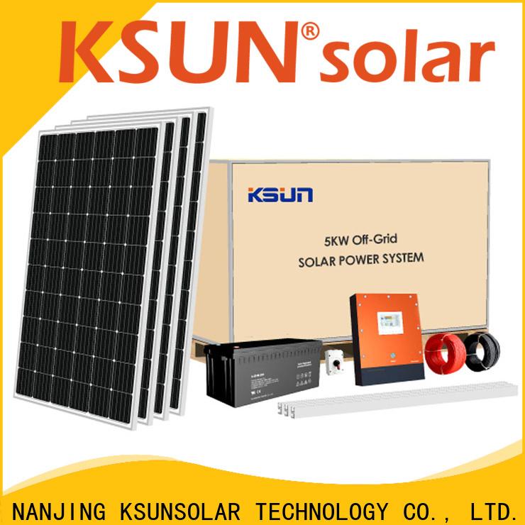 KSUNSOLAR Latest solar equipment factory for Energy saving