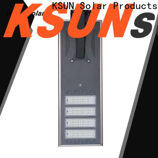 KSUNSOLAR Latest solar powered led street lights Supply for Energy saving