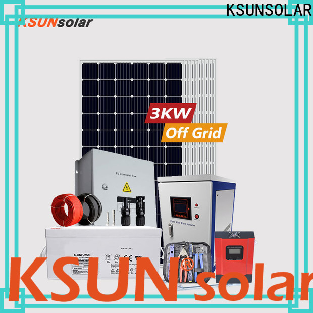 KSUNSOLAR off grid solar systems for sale Supply For photovoltaic power generation