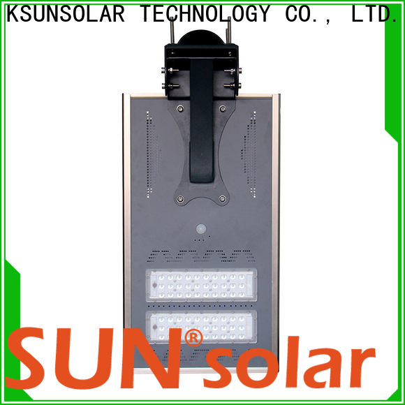 KSUNSOLAR solar led street lights Supply for Energy saving