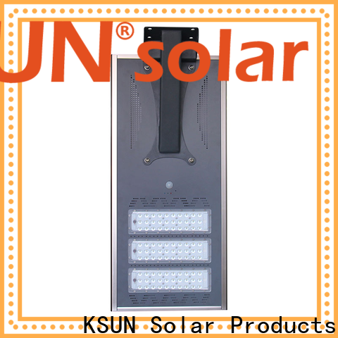 KSUNSOLAR Wholesale solar street light supplier Suppliers for powered by