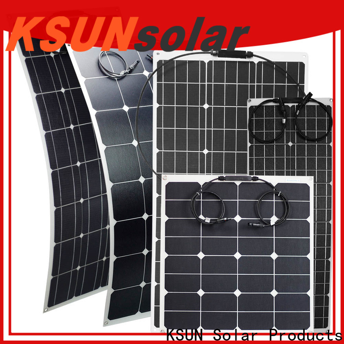 KSUNSOLAR flexible solar panel sheets Supply for powered by