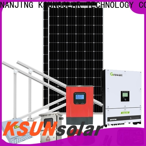 KSUNSOLAR grid tied solar kit Suppliers For photovoltaic power generation