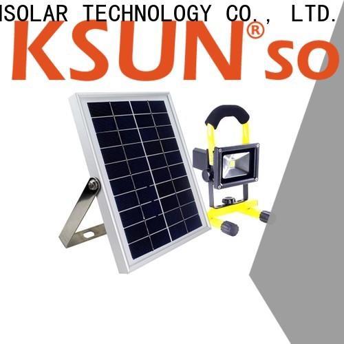 KSUNSOLAR best solar powered flood light company for Power generation
