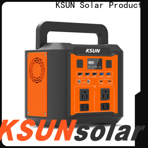 KSUNSOLAR Latest best rated portable power station company for Power generation