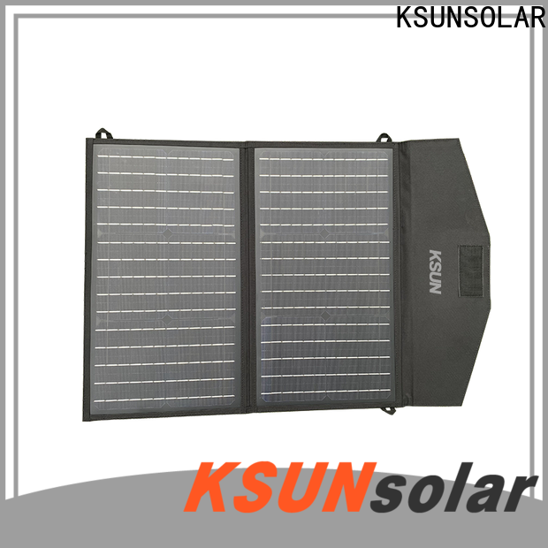 KSUNSOLAR best foldable solar panel manufacturers For photovoltaic power generation