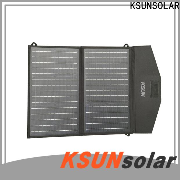 KSUNSOLAR best foldable solar panel manufacturers For photovoltaic power generation