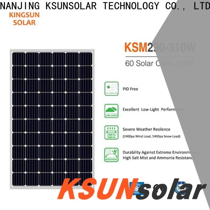 KSUNSOLAR Wholesale monocrystalline solar panel manufacturers manufacturers for Power generation
