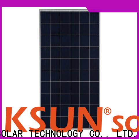 KSUNSOLAR chinese solar panels Suppliers for Power generation