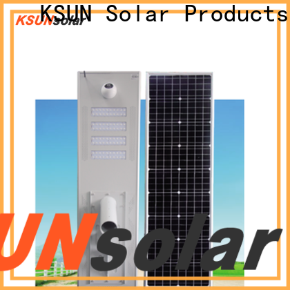 KSUNSOLAR solar street light made in china Supply for powered by