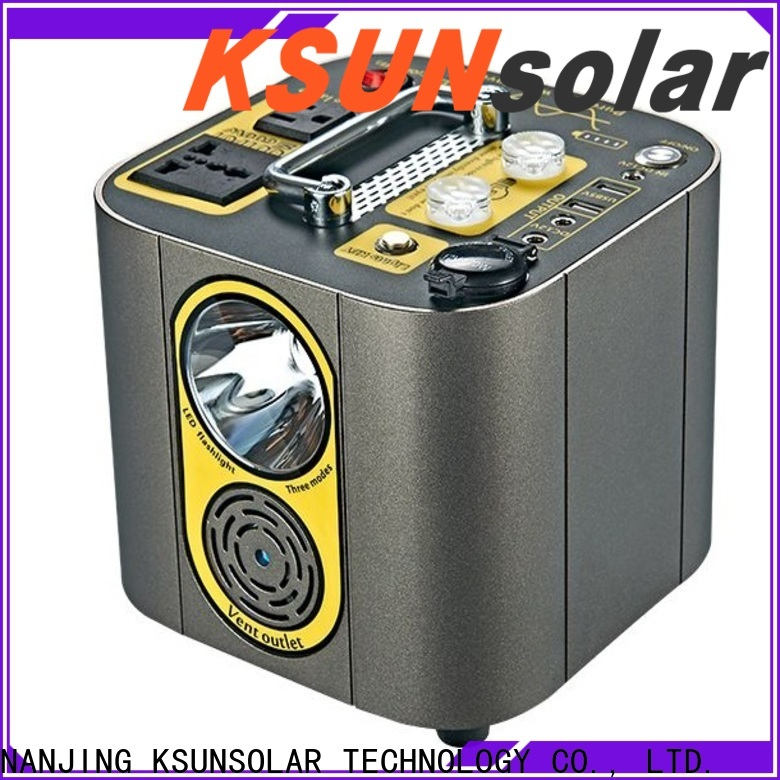 Latest portable power station with solar company for powered by