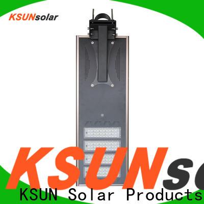 KSUNSOLAR Top solar powered street lights for business for Energy saving