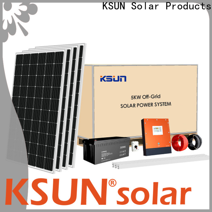KSUNSOLAR solar panel power system Supply for Power generation