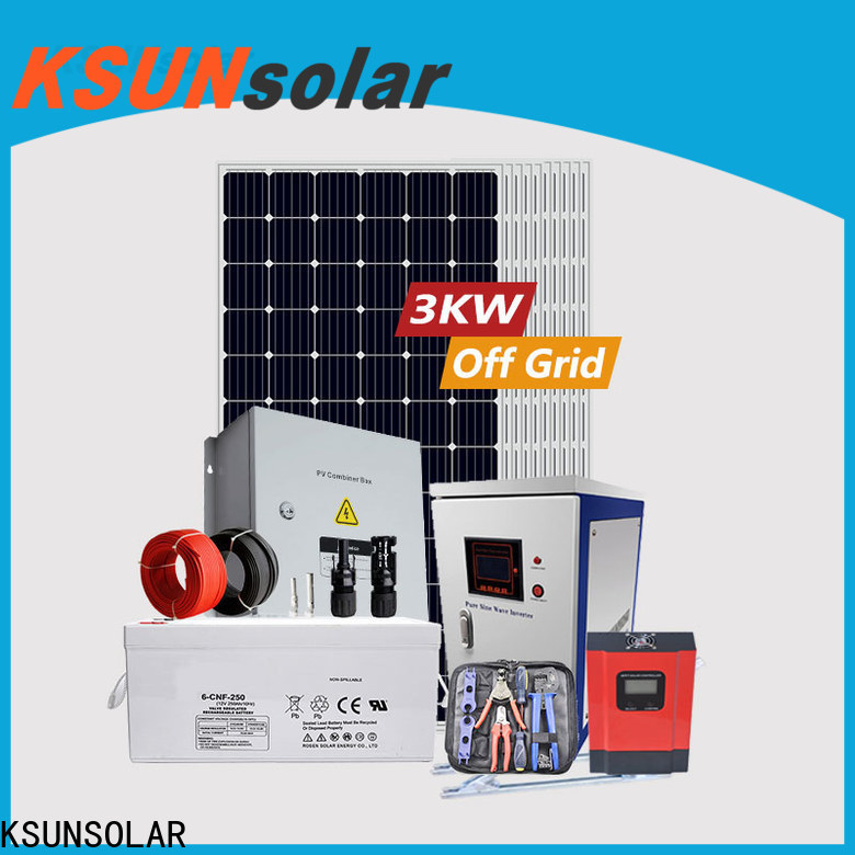 Wholesale off grid solar system for Power generation