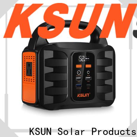 KSUNSOLAR Top portable solar power generator factory for Energy saving