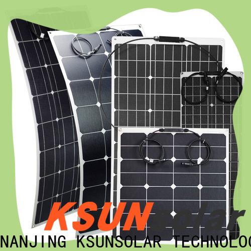 KSUNSOLAR Wholesale flexible solar power panels for business For photovoltaic power generation