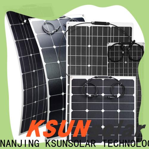 KSUNSOLAR Wholesale flexible solar power panels for business For photovoltaic power generation