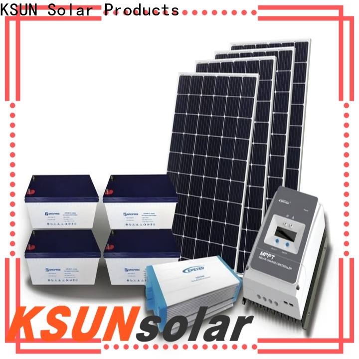 KSUNSOLAR hybrid solar system Suppliers for powered by