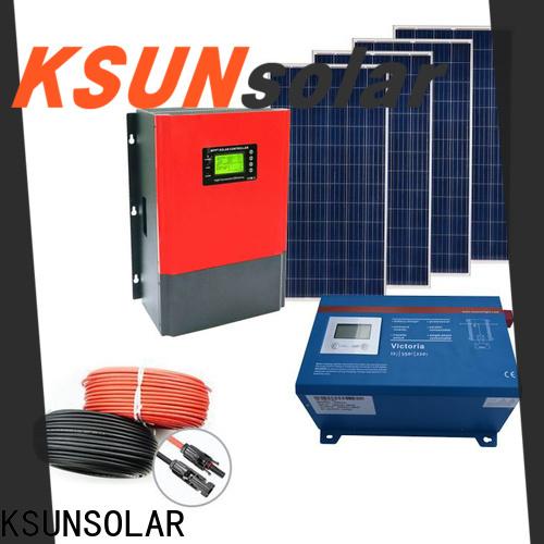 KSUNSOLAR off grid solar panel kits Supply for Energy saving