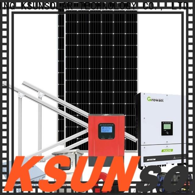 KSUNSOLAR Best solar power system Supply for Energy saving