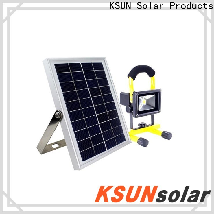 Best solar floodlight Supply for Environmental protection