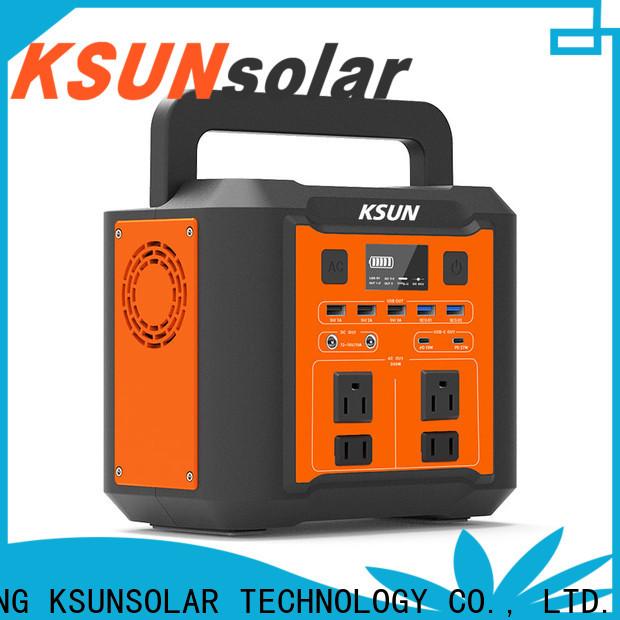 KSUNSOLAR New best portable power station for Power generation
