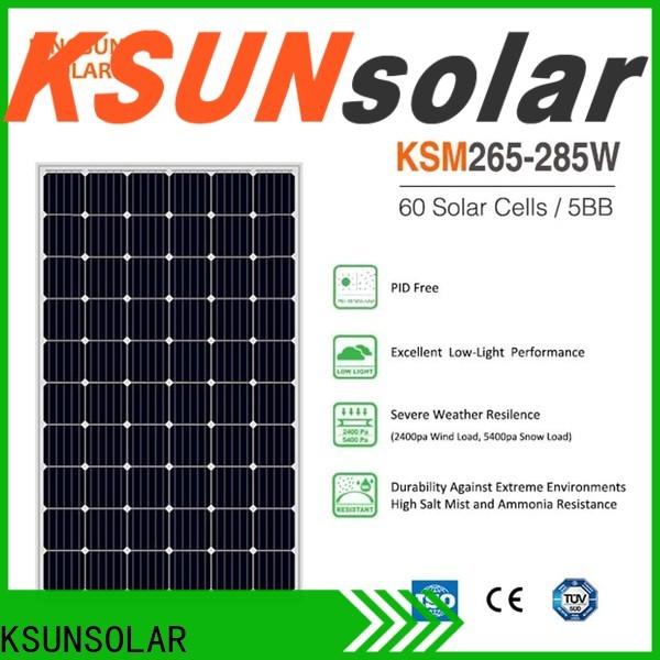 KSUNSOLAR solar power module company for Power generation