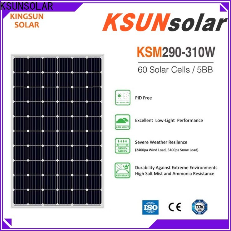 KSUNSOLAR photovoltaic module for business for Power generation