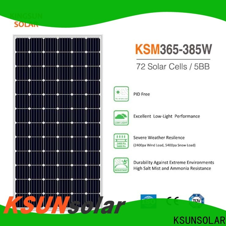 Custom monocrystalline solar panel manufacturers for powered by