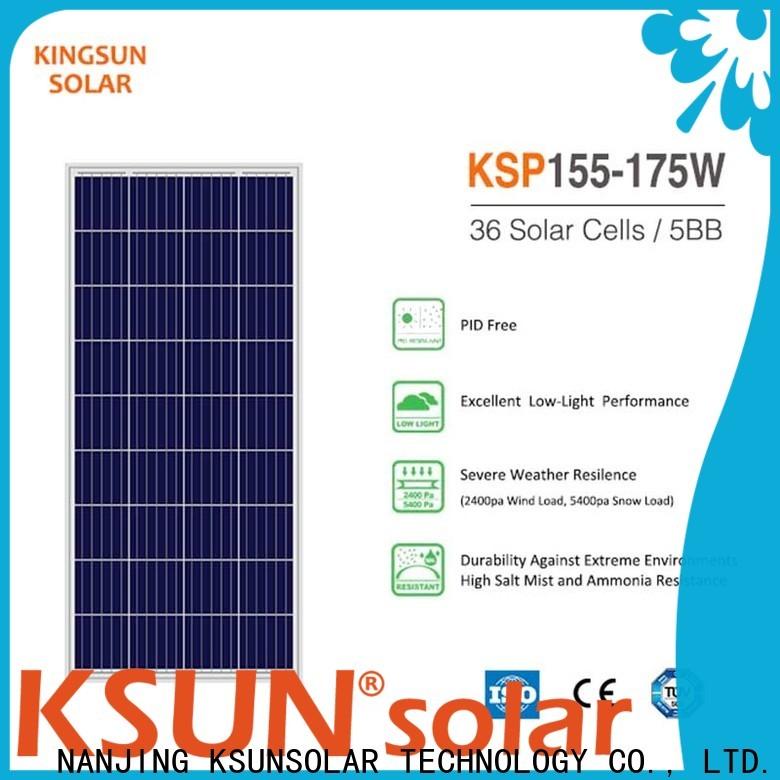 KSUNSOLAR New polysilicon solar panels manufacturers For photovoltaic power generation