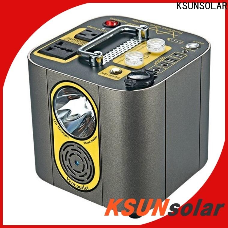 KSUNSOLAR portable power station price company For photovoltaic power generation