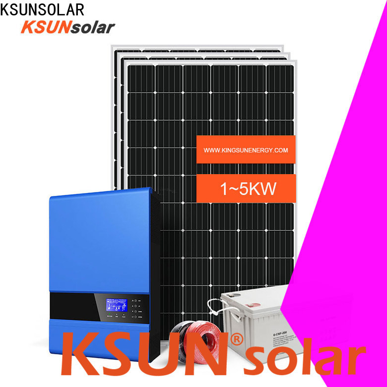 KSUNSOLAR best off grid solar power system for business for powered by