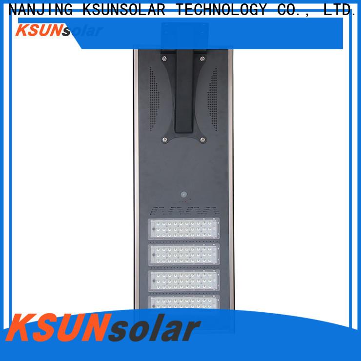 KSUNSOLAR solar powered street lights for sale Supply For photovoltaic power generation