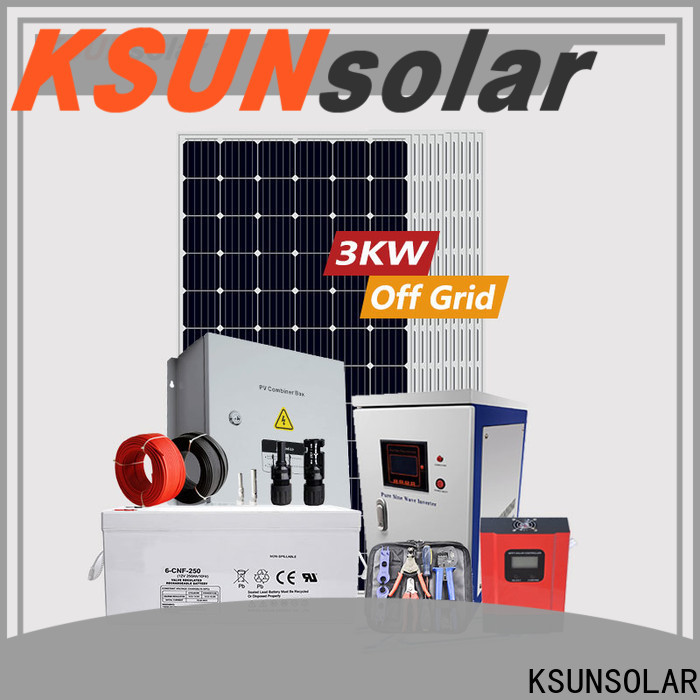 Best best off grid solar system factory for powered by