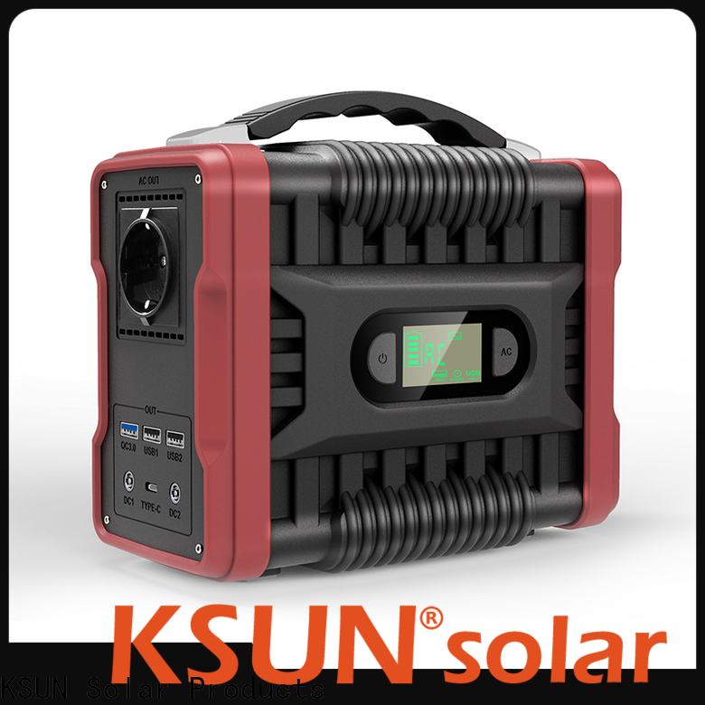 KSUNSOLAR portable power station solar power generator portable solar power system portable solar power generator portable solar power bank Supply For photovoltaic power generation