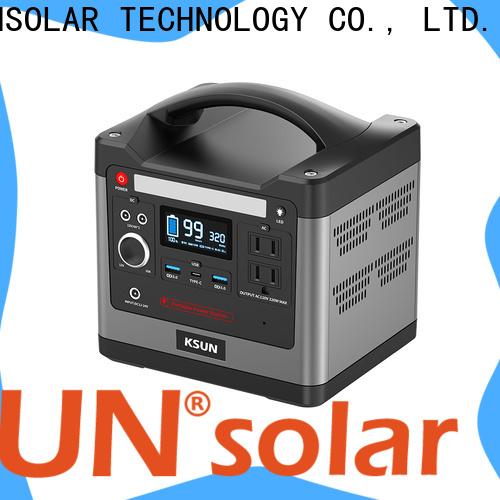 KSUNSOLAR portable power supply generator Suppliers for Power generation