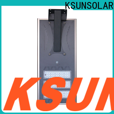 KSUNSOLAR solar powered led street light Suppliers For photovoltaic power generation