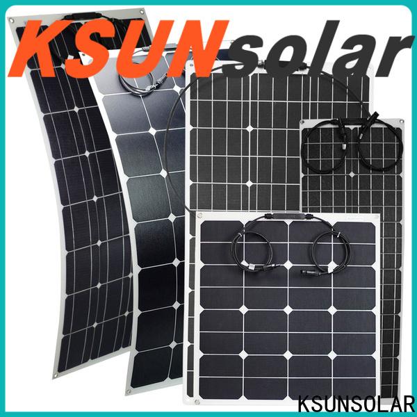 KSUNSOLAR Best flexible solar panel company for Environmental protection