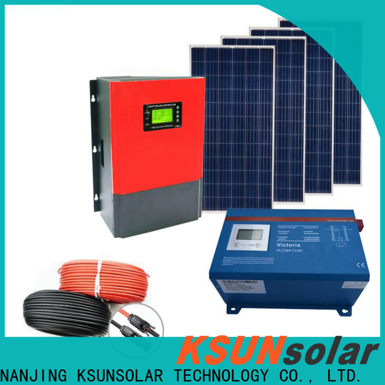 KSUNSOLAR solar equipment companies Suppliers for powered by