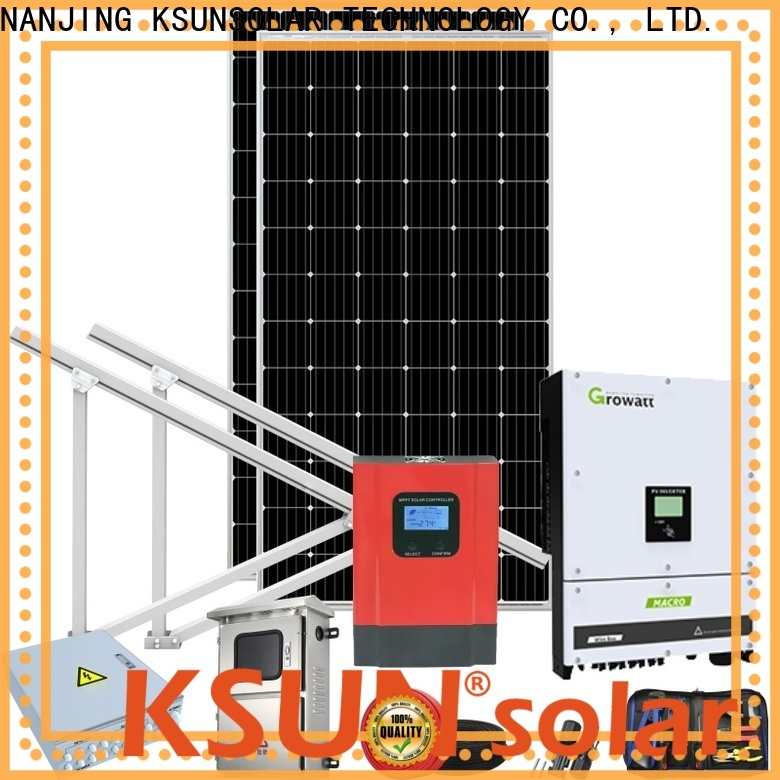 KSUNSOLAR Wholesale solar energy equipment for business for powered by